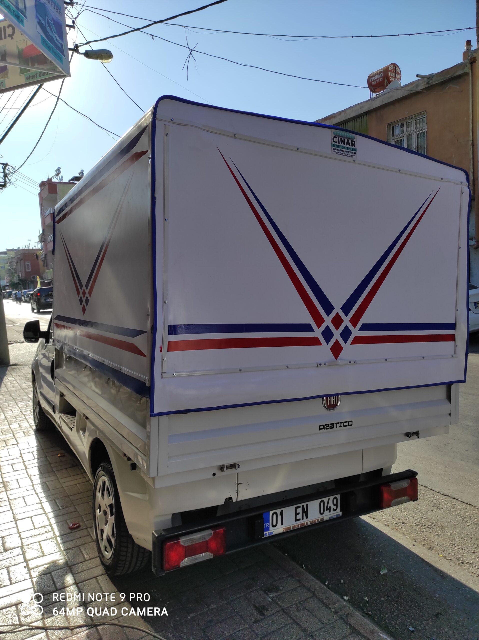 Adana Pikap Tentesi