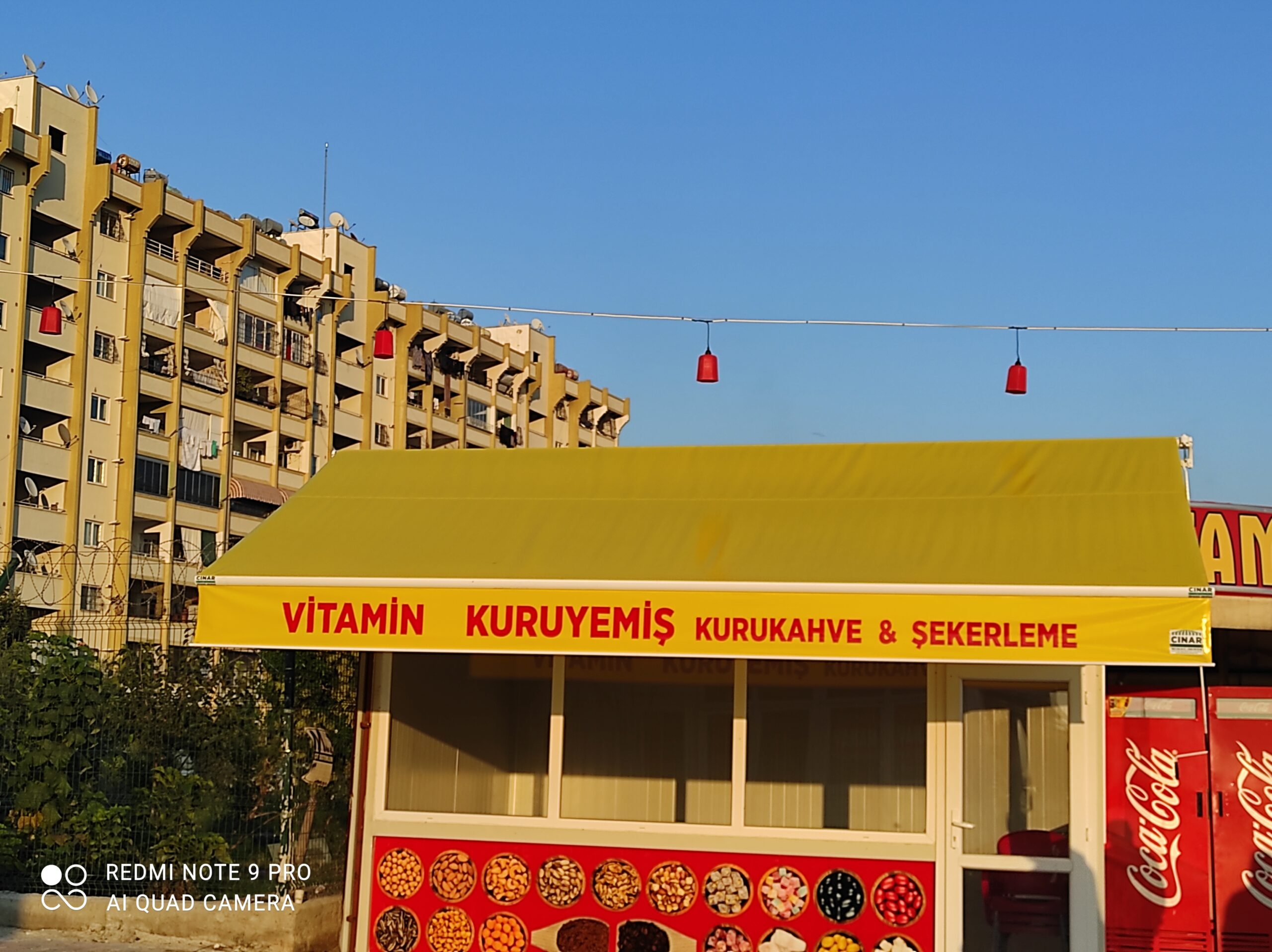 Adana mafsallı Tente Montajımız çınar tente İmalatımız OTO Center Hayırlı Olsun