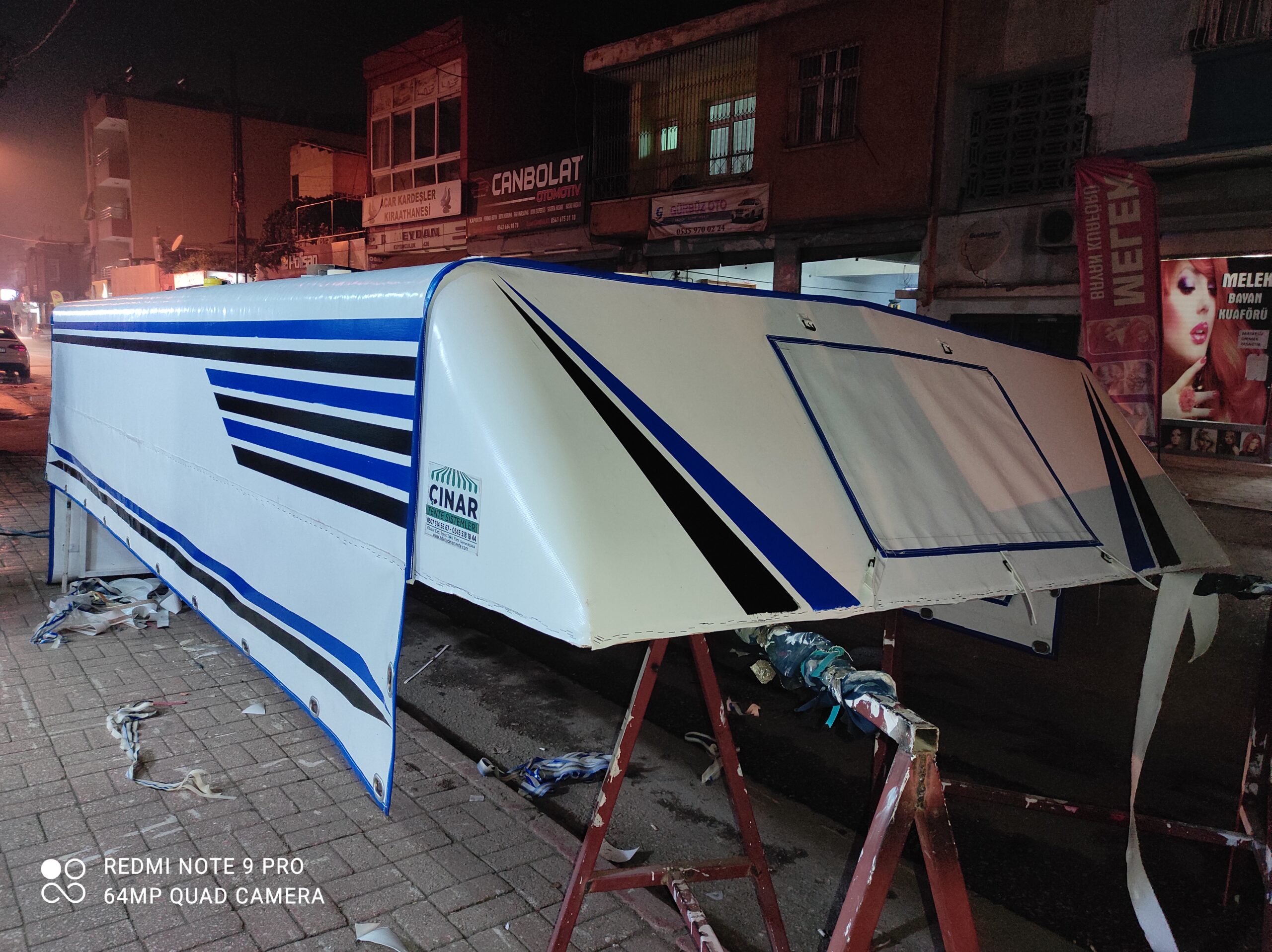 Adana Pikap tentesi imalatımız