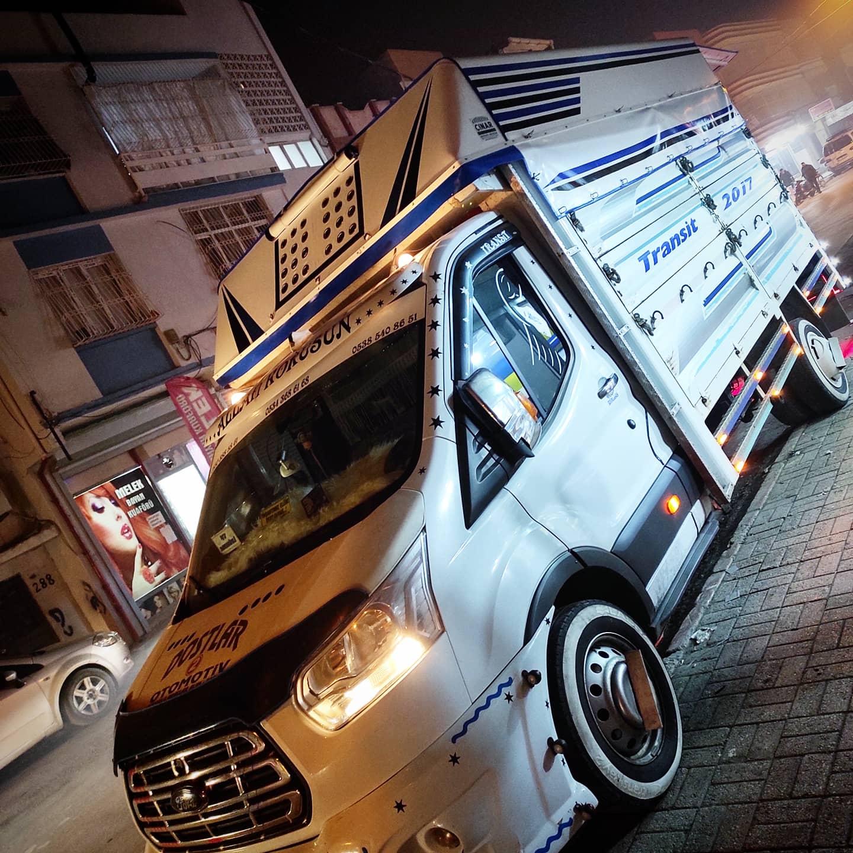 Adana Pikap tentesi Mardin'e hayırlı olsun Ford transit Pikap tentesi Çınar Tente İmalatımız 💢