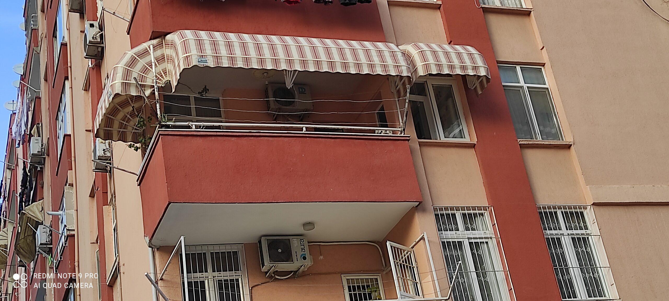 Adana balkon Tentesi modelimiz