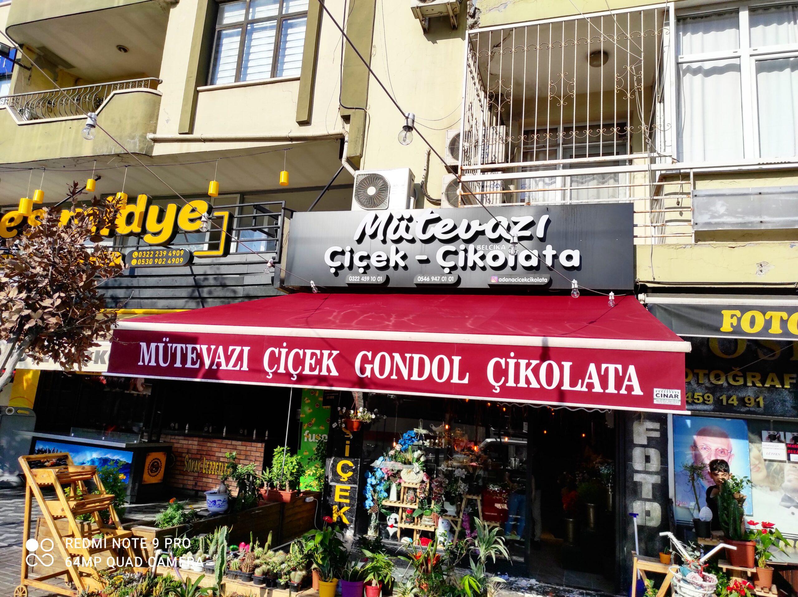 Adana tente mafsallı kollu tente Montajımız hayırlı olsun